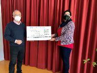 Spendenübergabe an Thomas-Wiser-Haus